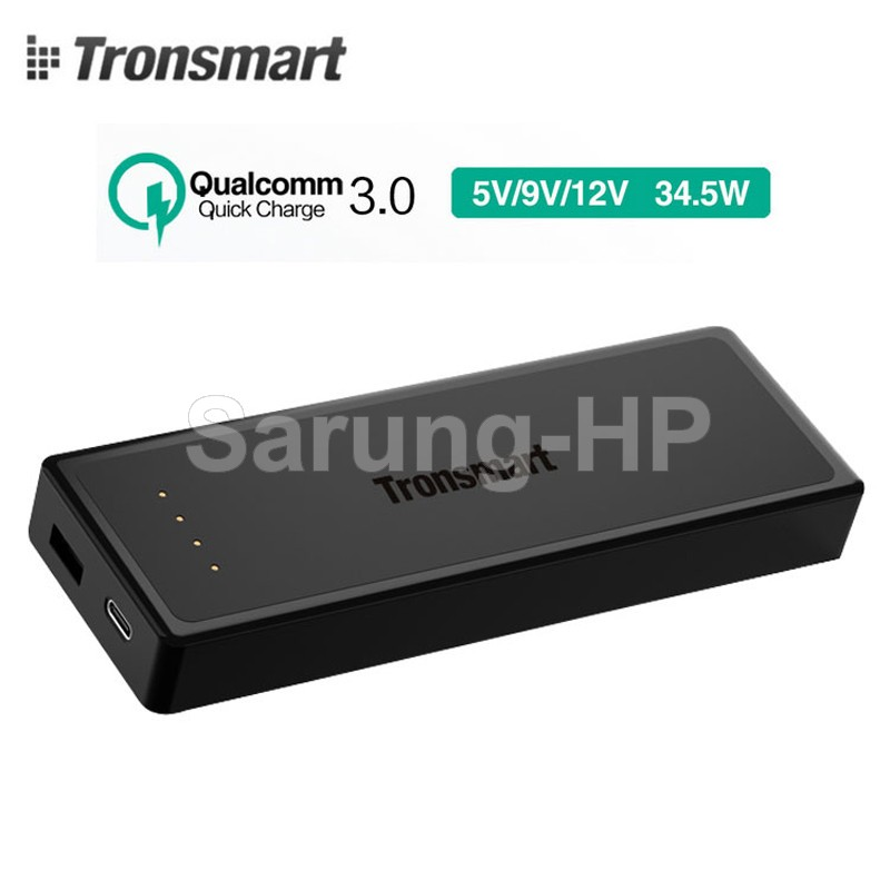 Tronsmart TS-PBT12 Presto Quick Charge 3.0 Power Bank 12000mAh