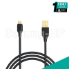 Aukey CB-MD2 Micro USB Cable Kabel Micro USB Gold Plate 2 Meter